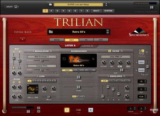 Spectrasonics Trilian Vst 1.5 Crack ( Mac/Win) Free Download 2021