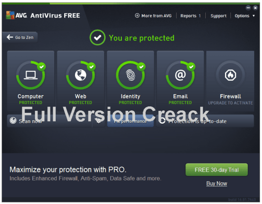 AVG Antivirus 21.8.3197 Crack With Activation Key Free Download [2021]