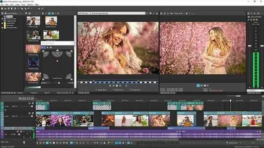 Sony Vegas Pro 18 Crack Build 527 is the Creative Software for Professional Video, Audio, and Blue-beam Disk Creating.