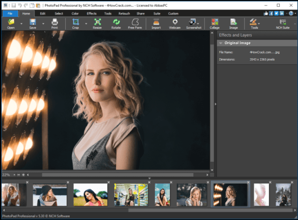 PhotoPad Image Editor Pro Crack 7.40 With Key Download