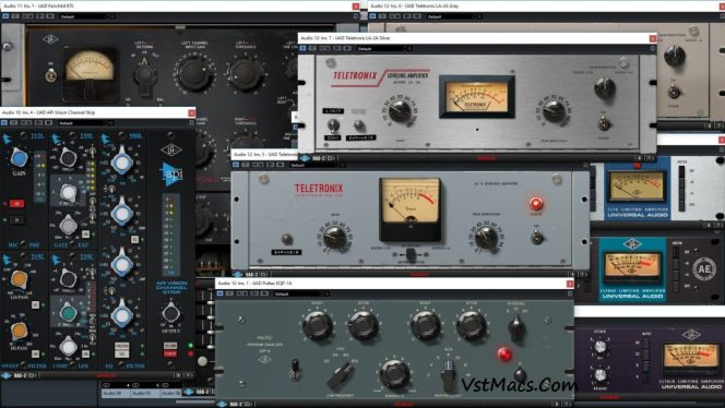 UAD Ultimate 8 Bundle Crack Mac With Win Free Download 2021