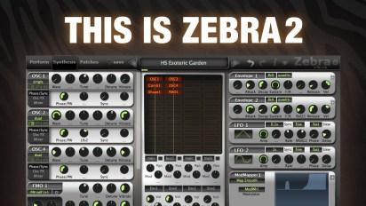 Zebra 2 VST Crack u-he Zebra 2.9.1 U-he plugin Full 2021 Download
