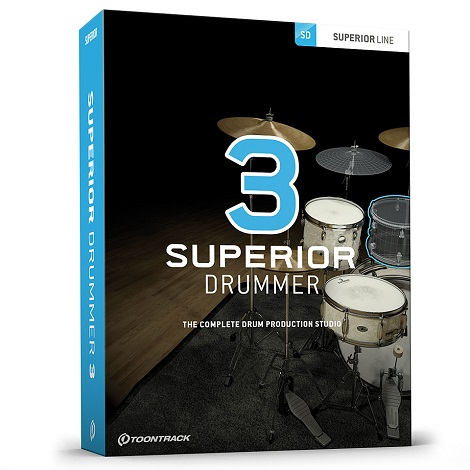 Toontrack Superior Drummer v3.1.7 (Mac) Latest 2020 Download