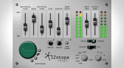 iZotope Vinyl v1.80 Crack (Win & Mac) Latest Version Free Download
