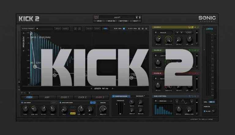 Sonic Academy Kick 2 Crack (Win) Latest Version [ Latest2021] Free Download