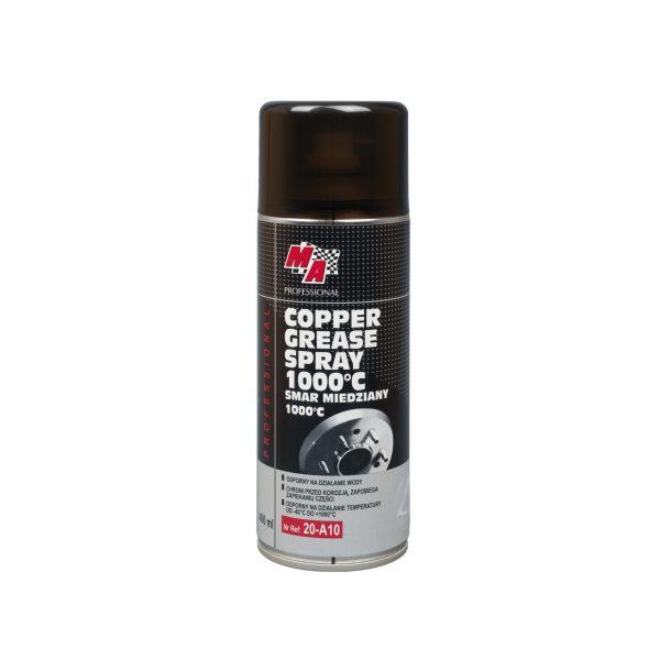 Copper based grease spray