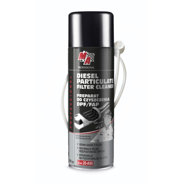 Diesel particulate filters cleaner