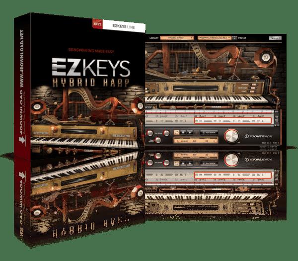 Toontrack EZkeys Hybrid Harp v1.0.1 Version Download