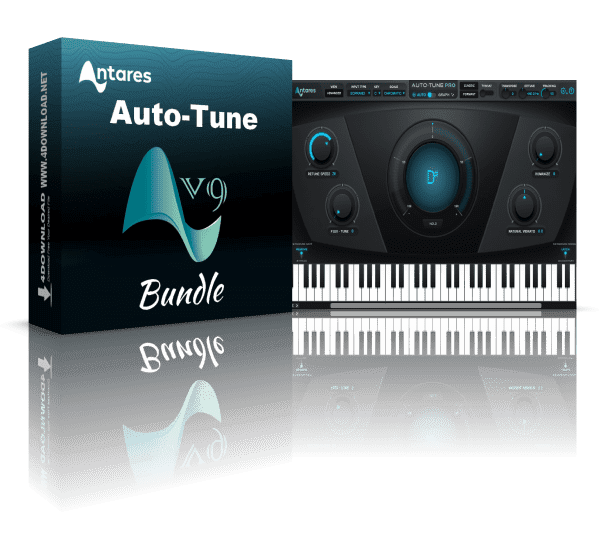 Antares AutoTune Pro 9.1.1 Crack With Serial Key 2020 Download