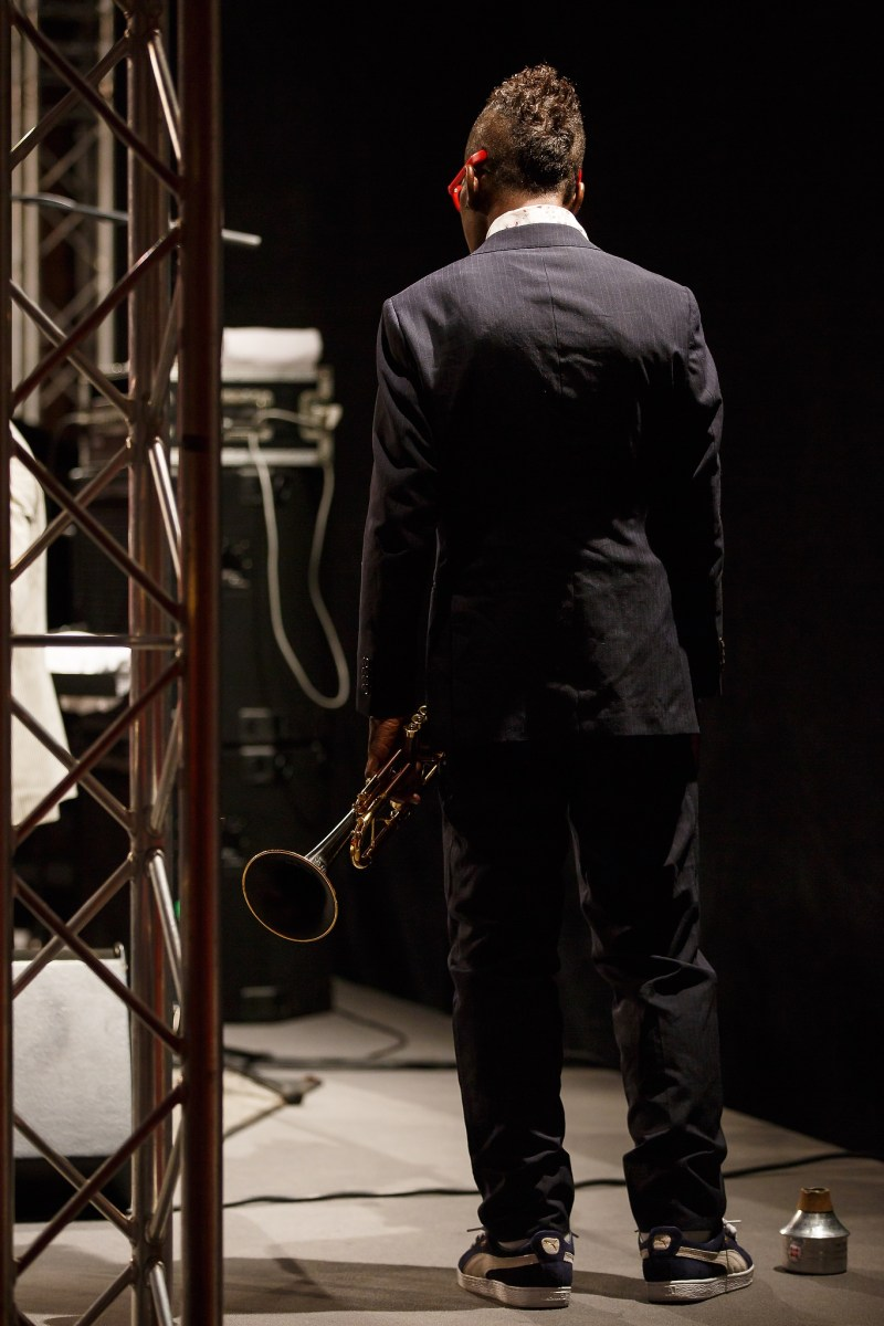 Jun 27, 2015 - Neckarsulm, Germany. Ron Carter & Roy Hargrove Quintet. (Credit Image; vstudio.photos/Bob van Ooik)