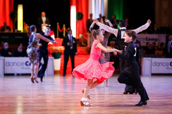 Jul 1, 2016 - Wuppertal, Germany. Jive cup danceComp 2016, Historische Stadthalle in Wuppertal. (Credit Image; vstudio.photos)