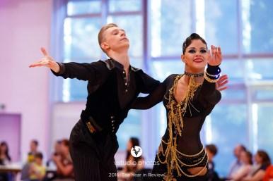 September 24, 2016 - Wetzlar, Germany. WDSF World Championship Under 21 Ten Dance in Stadthallen Wetzlar, Wetzlar. (Credit Image; vstudio.photos)