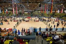 May 19, 2017 - Frankfurt, Germany. Hessen Tanzt at Eissporthalle Frankfurt. (Credit Image; vstudio.photos)