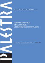 Vybrané kapitoly z psychologie a pedagogické psychologie
