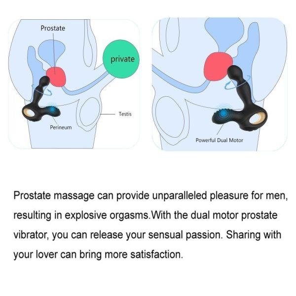 Vibrierendes Prostata Massagegerät Einsatzmöglichkeit 02
