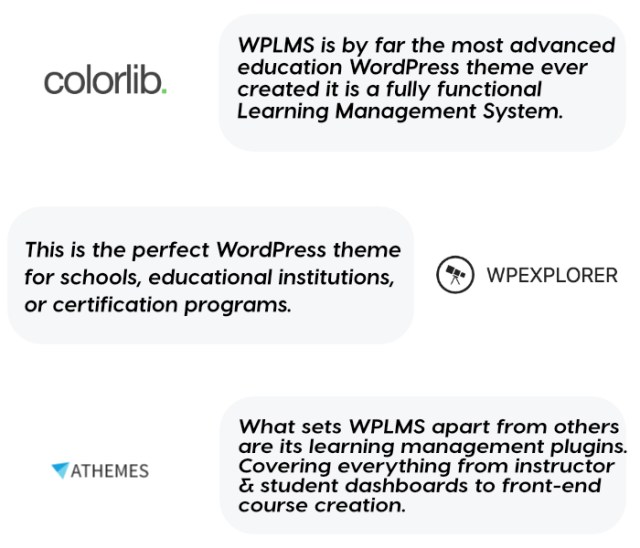 WPLMS Learning Management System for WordPress, Education Theme - 3