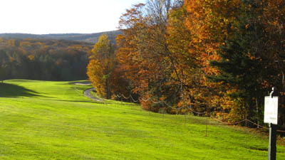 golfing in Vermont Haystack Golf course