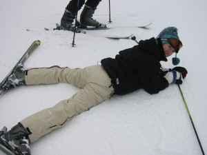 fun learning to ski