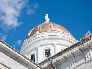 The Vermont Statehouse. VTD/Josh Larkin