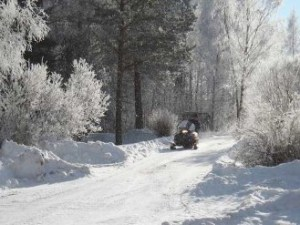 Repairs to Vermont's 6,000-mile network of snowmobile trails could cost upwards of $7 million. Photo by Susanne Sperring.