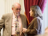 Rep. David Deen, left, and Deb Markowitz, Agency of Natural Resources secretary