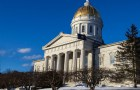 The Statehouse in Montpelier in January 2014. Photo by Roger Crowley/for VTDigger