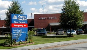 Copley Hospital in Morrisville. Courtesy photo