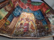 The Lost Mural of Chai Adam at Ohavi Zedek in Burlington. The mural was revealed on August 2, 2015.