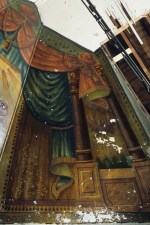 A photo of the Lost Shul mural taken in 1986. Courtesy of LostShulMural.org