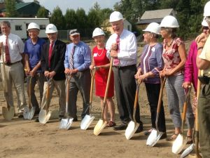 Red Clover Commons groundbreaking