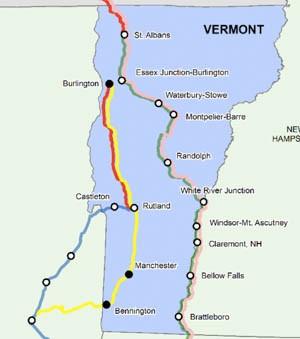 Vermont Lands 10 Million To Finish Rutland To Burlington