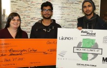 HackVT winners invent way to track daily carbon footprint