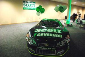 Phil Scott, stock car