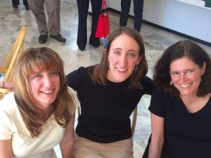 Tiffany Pache, Elizabeth Hewitt, Anne Galloway