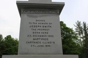 Joseph Smith monument