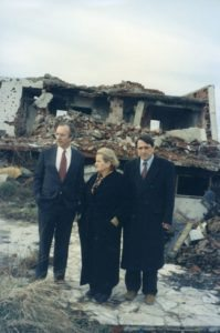 Peter Galbraith, Madeleine Albright