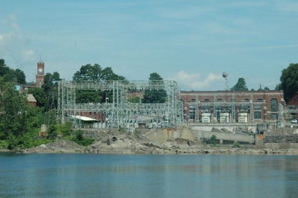 Bellows Falls hydroelectric station, Rockingham