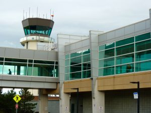 Burlington International Airport.