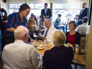 Joe Biden, Sue Minter