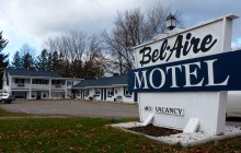 The Champlain Housing trust is partnering with the University of Vermont Medical Center to convert the Bel Aire Motel into housing for the chronically homeless. Photo by Morgan True / VTDigger
