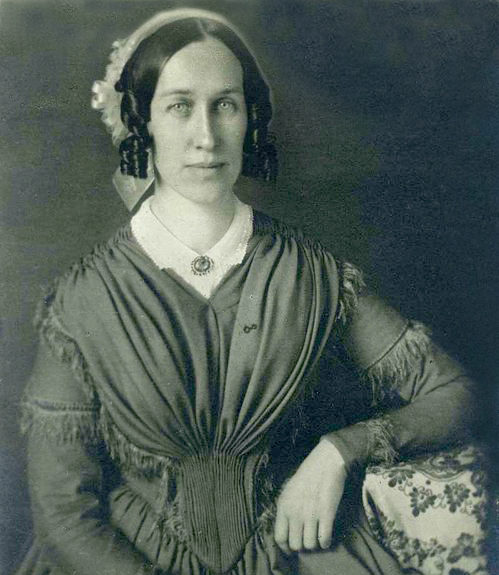 Clarina Howard Nichols became the first woman to address the Vermont Legislature, in 1852. Photo courtesy of the Vermont Historical Society