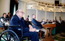 Doyle has his day in Senate and on Vermont's calendar