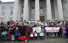 Hundreds gather in Montpelier for right-to-life rally