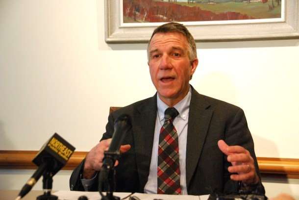 Gov. Phil Scott. File photo by Elizabeth Hewitt/VTDigger