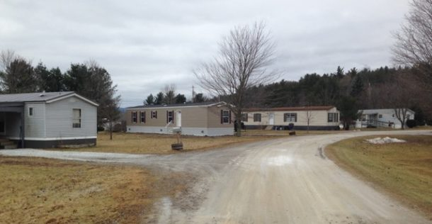 Triangle Court Mobile Home Park Is Off Route 7 South Of Brandon Village Photo By Adam Federman VTDigger