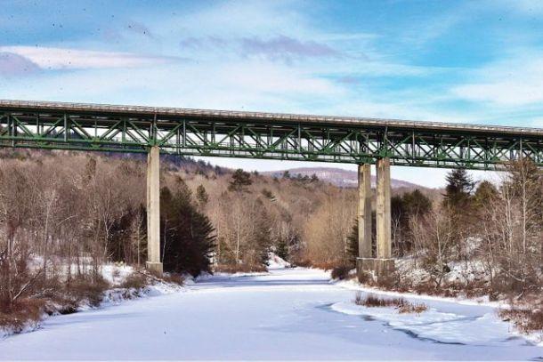 Rockingham Bridge, I-91