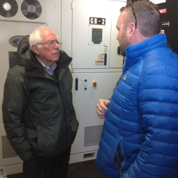 Bernie Sanders, Green Mountain Power