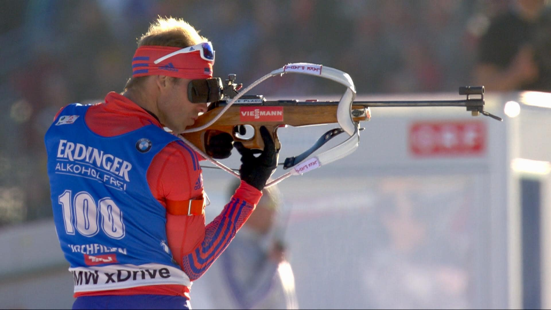U.S. biathlete Lowell Bailey is a graduate of the University of Vermont. NBC