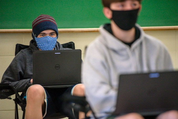Reporter's notebook: For schools, pandemic changed everything