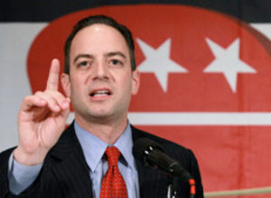 Reince Priebus, chair of the Republican National Committee